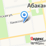 ЖЭУ-2 на карте Абакана