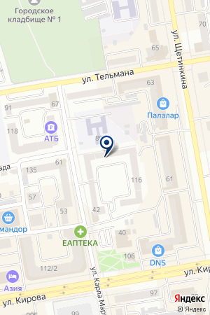 Мобил ТелеКом Хакасия на карте Абакана