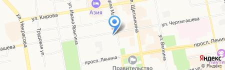 Магазин игрушек на ул. Чертыгашева на карте Абакана