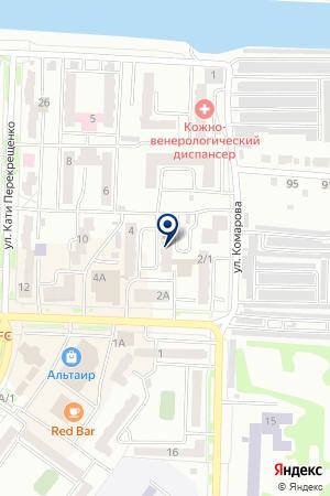 Почтовое отделение №10 на карте Абакана