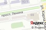 Схема проезда до компании Чебурек Иваныч в Абакане