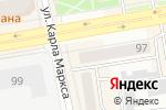Схема проезда до компании Сакура в Абакане