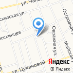 Сибирская рекламная компания на карте Абакана