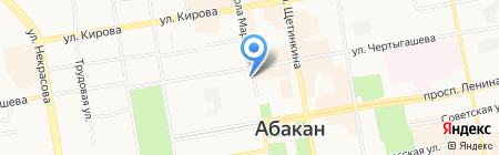 Оя! на карте Абакана