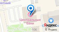 Компания Центральная баня на карте
