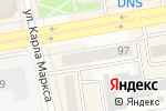 Схема проезда до компании TianDe в Абакане