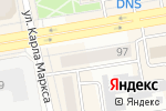 Схема проезда до компании ККМ-Сервис в Абакане