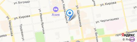 DANZA на карте Абакана