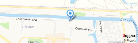 Южно-Сибирский поисково-спасательный отряд на карте Абакана