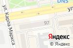 Схема проезда до компании DENTEX в Абакане