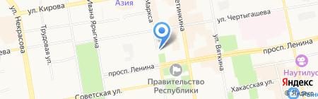 Книжный мир на карте Абакана