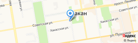 МВД России по Республике Хакасия на карте Абакана