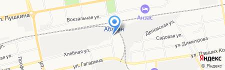 СпецСибирь на карте Абакана