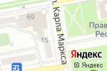 Схема проезда до компании Славица в Абакане