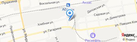 Новые Ворота на карте Абакана
