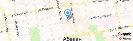 Respect на карте Абакана