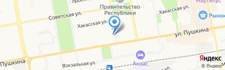 Мультимедиа на карте Абакана