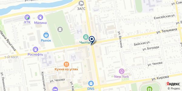 МТС на карте Абакане