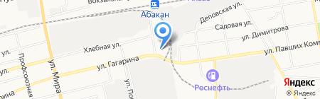 ОптЛайн на карте Абакана