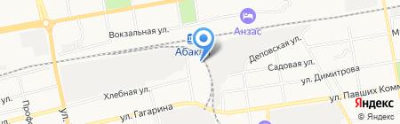 Абсолют на карте Абакана
