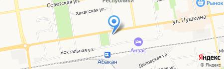 Атака на карте Абакана