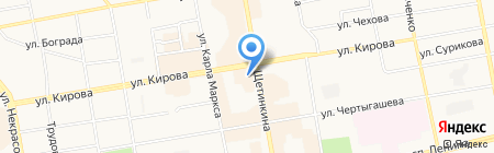 Квартирное бюро на карте Абакана