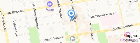 Центр реставрации обуви на ул. Чертыгашева на карте Абакана