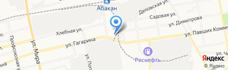 Сладкоежка на карте Абакана
