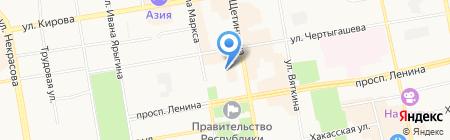 КМ-Техника на карте Абакана