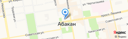 Банкомат на карте Абакана
