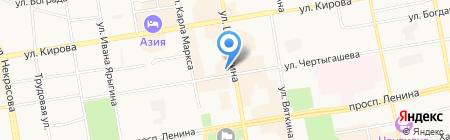 Fresh Line на карте Абакана