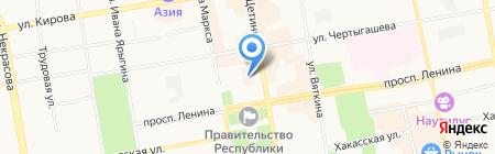 Хоон Хоорай на карте Абакана