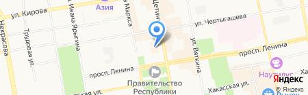 Рогачевой на карте Абакана