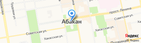 Комитет ЗАГС на карте Абакана