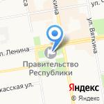 Правительство Республики Хакасия на карте Абакана