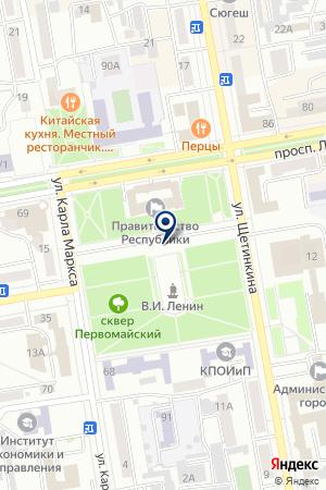 Полиция на карте Абакана