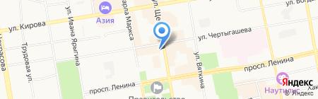 Спецогнезащита на карте Абакана