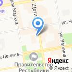 Либерально-демократическая партия России на карте Абакана