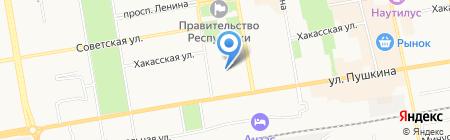 AutoButik на карте Абакана