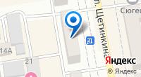 Компания ТНТ-Абакан на карте