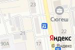 Схема проезда до компании Эхо Москвы, УКВ 71.06 в Абакане