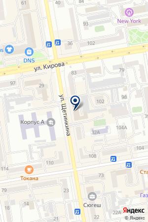 Хакасский Центр Генерации Услуг на карте Абакана
