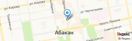 Лига Пресс на карте Абакана