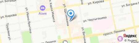 Твой букет на карте Абакана