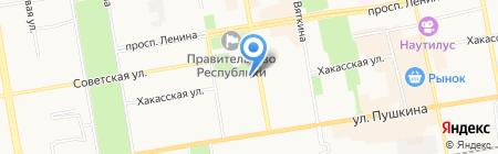 Колледж педагогического образования информатики и права на карте Абакана