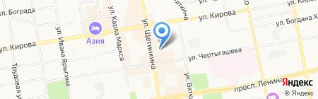 Специальная (коррекционная) общеобразовательная школа №27 VI вида для обучающихся на карте Абакана