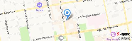 Barss на карте Абакана