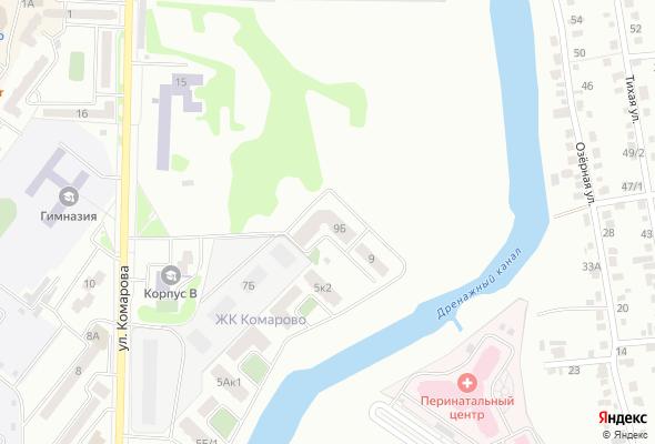ЖК по ул. Комарова