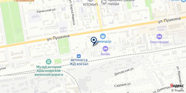 Абаканская Строительная Компания на карте Абакане