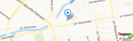Арбитражный суд Республики Хакасия на карте Абакана
